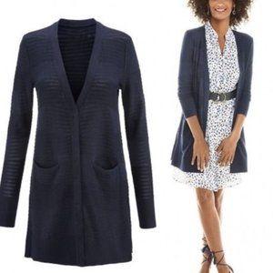 CAbi Classic Cardigan Navy Sweater XS Style # 5135